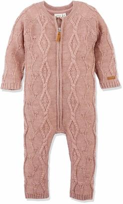 Name It Baby Girls' Nmfwrilla Wool Ls Knit Suit Noos Romper