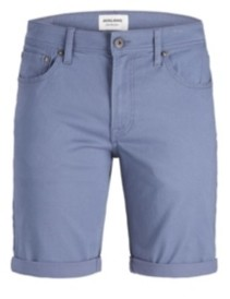Jack and Jones Men's Colored Stretch Denim Shorts