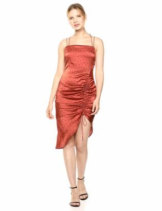 Finders Keepers findersKEEPERS Women's Emilia Adjustable Cinch Midi Slip Dress