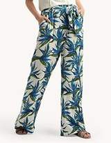 Ella Moss Women's Malaya Tropical Wide Leg Pant
