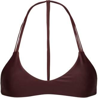 Mikoh Strap-detailed Bikini Top