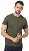 J By Jasper Conran Big And Tall Khaki Crew Neck T-shirt
