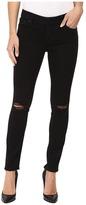 Lucky Brand Lolita Skinny in Black Destructed Women's Jeans