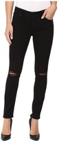 Lucky Brand Lolita Skinny in Black Destructed