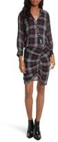 Veronica Beard Women's Emory Ruched Cargo Shirtdress