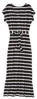 Merona Women's Knit V-Neck T-Shirt Maxi Dress - Stripes