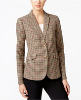Charter Club Plaid Two-Button Blazer, Only at Macy's