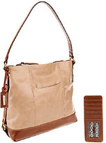 Tignanello As Is Distressed Leather Hobo