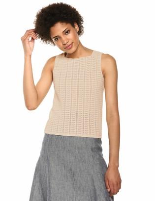 Theory Women's Sleevless Crochet Shell
