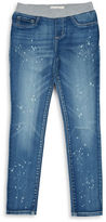 Jessica Simpson Girls 7-16 Gracie Splatter Denim Jeans