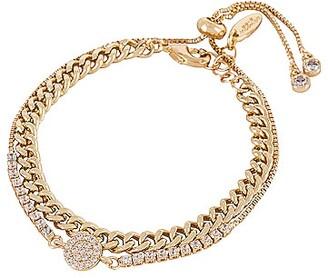 Ettika Crystal & Chain Bracelet Set