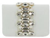 Emanuela Caruso Crystal Detail Shoulder Bag