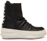 D.gnak By Kang.d Black Back Laced High-top Sneakers