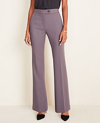 Ann Taylor The Petite Madison High Waist Trouser In Twill - Curvy Fit