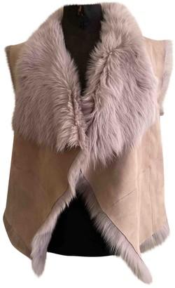 Ralph Lauren Beige Shearling Jacket for Women