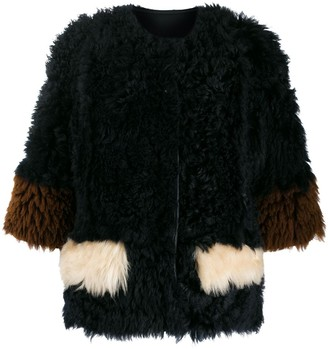 Marni reversible shearling jacket