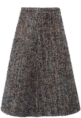 Miu Miu Boucle-Tweed Skirt