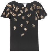 Oscar de la Renta Embroidered blouse