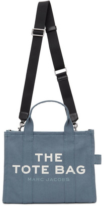 Marc Jacobs Blue The Small Traveler Tote