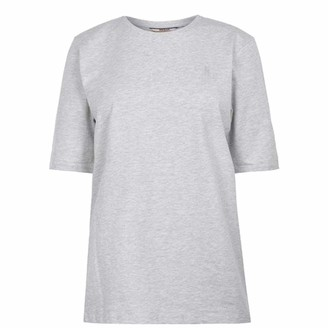 Soul Cal SoulCal . Womens Signature T Shirt Short Sleeves (Ice Marl 10)
