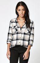 Volcom Desert High Plaid Flannel Button-Down Shirt