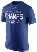 Nike Men's Los Angeles Dodgers 2016 NL West Division Champions Tee