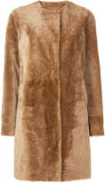 Drome single-breasted textured coat