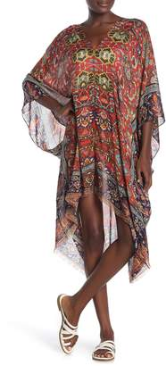 Masala Print Kaftan Cover-Up