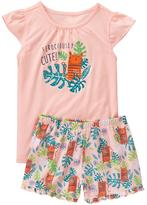 Gymboree Tiger 2-Piece Pajama Set