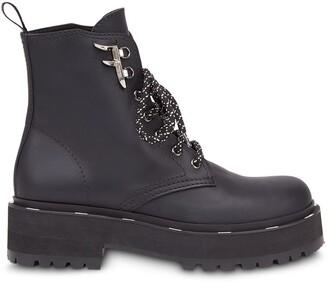 Fendi FFreedom biker-style boots