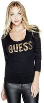 G by Guess GByGUESS Women's Chianna Logo Sweater