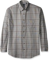 Arrow Men's Big and Tall Long Sleeve Heritage Twill Shirt