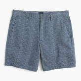 """J.Crew 7"""" Club Short In Ditsy Floral"""