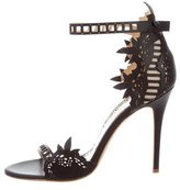 Marchesa Margaret Laser Cut Sandals w/ Tags