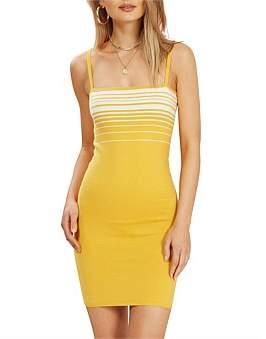MinkPink Sundown Stripe Knit Dress