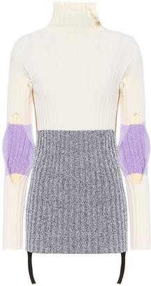 Moncler Genius 2 1952 Cotton-blend turtleneck sweater