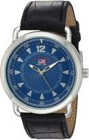 U.S. Polo Assn. Men's Quartz Metal Casual Watch, Color:Black (Model: US5225)