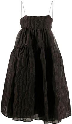 Cecilie Bahnsen Flared Midi Dress