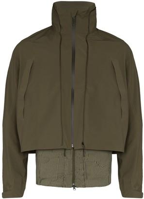 Descente x Byborre layered Transform track jacket