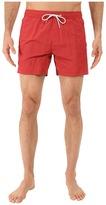 Scotch & Soda Medium Length Swim Shorts with Cut & Sewen Parts in 4 Solids