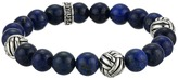 King Baby Studio Tri Monkey Knot 10mm Beaded Bracelet Bracelet