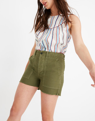 Madewell High-Rise Cargo Shorts