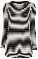Long stripe top