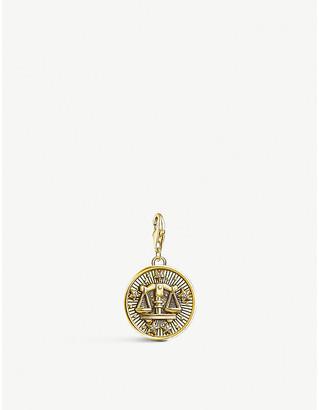 Thomas Sabo Libra gold-plated zodiac charm