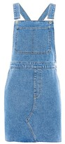 Topshop MOTO Traditional Pinafore Dress