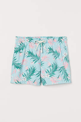 H&M Short Swim Shorts - Turquoise