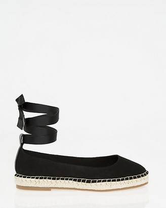 Le Château Canvas Lace-Up Espadrille