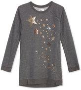 Epic Threads Hero Kids by Glitter Stars Long-Sleeve Shirtdress, Big Girls (7-16), Created for Macy's