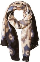 Theodora & Callum Women's Agalega Tie All Scarf, Neutral/Multi