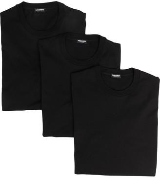 DSQUARED2 logo-print crew-neck T-shirt